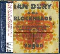 IAN DURY & THE BLOCKHEADS-LIVE IN SAN FRANCISCO 78'-IMPORT CD WITH JAPAN OBI G88
