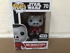 FUNKO POP VINYL STAR WARS #70 RED SNAGGLETOOTH SMUGGLERS BOUNTY EXCLUSIVE