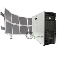 Trading 8 Monitor HP Z820 Video Wall E5-2640 2.5GHz 2x250GB HDD 2x NVS 510 Win10