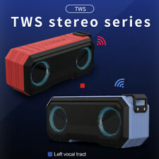 Portable wireless bluetooth speaker waterproof stereo bass USB/TF/AUX MP3