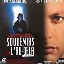 SOUVENIRS DE L'AU-DELA WS VF - PAL LASERDISC Jeff Goldblum, Christine Lahti