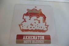 AKHENATON CD SINGLE PROMO POCHETTE CARTON NEUF EMBALLE. MOTS BLESSES.