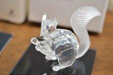 Swarovski Crystal Figurine 10Th Anniversary Edition The Squirrel Mib