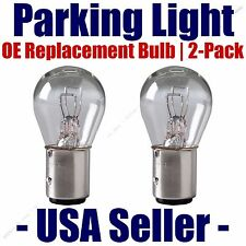 Parking Light Bulb 2 pk OE Replacement Fits Listed Chevrolet Vehicles 1157