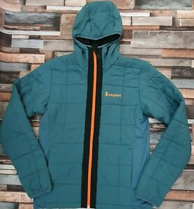 Cotopaxi AIRE Hybrid Hooded Jacket, Submarie Blue, Men's Medium RRP £200