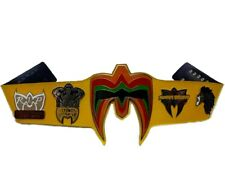 Ultimate Warrior Heavyweight Wrestling ChampionShip Tittle Belt Replica