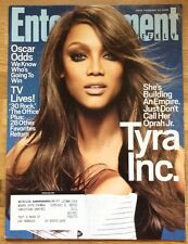 ENTERTAINMENT WEEKLY Magazine #979 February 22, 2008 Tyra Banks ANTM