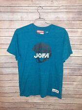 CCM JOFA Professional NHL Hockey Helmets Blue T Shirt Tee Top Mens XL EUC