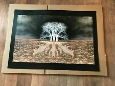 Biffy Clyro Wolves Of Winter Official concert tour Litho Print  / Poster New A2