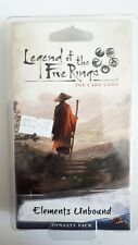 LEGEND OF THE FIVE RINGS Card Game: Elements Unbound dynasty pack (sealed)