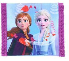 Disney Frozen II Tri-Fold Wallet featuring Anna and Elsa Purple