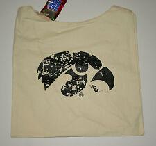 University Iowa Hawkeyes Football Team Sports Canvas Book Bag New Tags
