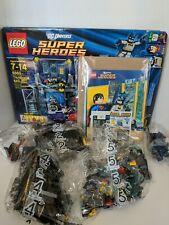 LEGO DC Universe Super Heroes Batman 6860 The Batcave New NIB Comic Minifig 2012