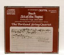 THE PORTLAND STRING QUARTET - JS BACH the art of fugue BWV.1080 - ARABESQUE 2xCD