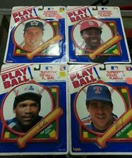 4 vintage TARA PLAYBALL Superstar collectible plaques