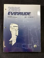 2005 BRP EVINRUDE SO E-TEC 75 90 HP SERVICE SHOP REPAIR MANUAL PN 5005970