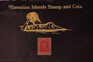 74 HAWAII SCOTT #50 UNUSED 1889 KINGDOM OF HAWAII