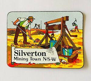 Silverton Magnet Mining Town NSW Mad Max Set Small Souvenir Australia (K17)