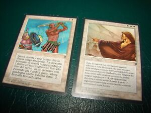 MTG INFINITE AUTHORITY RAPID FIRE LEGENDS FOREIGN old school white magic card