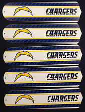 """New NFL SAN DIEGO CHARGERS 52"""" Ceiling Fan BLADES ONLY"""