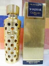VINTAGE OLD FORMULA SHALIMAR GUERLAIN EDT REFILLABLE SPY 3.1 OZ circa 1983