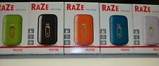 Raze Mens Battery Powered Travel Shaver - New In Box - Your Choice Of Color