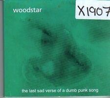 (CK576) Woodstar, The Last Sad Verse ... - 2002 CD
