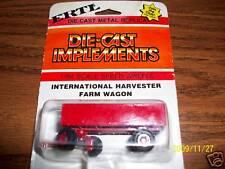 Ertl 1/64 farm toy IH International wagon