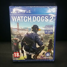 Watch Dogs 2 PS4 Game Brand New Sealed PAL