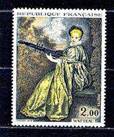 TIMBRES DE FRANCE  N°1765  WATTEAU   NEUF SANS CHARNIERE