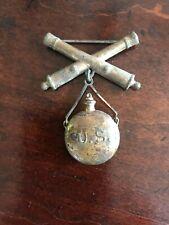 Vintage Us Military Artillery Medal