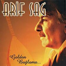 Golden Baglama...; Arif Sag 1999 CD, Turkish Folk, Saz, Erdal Erzincan, Turkuola