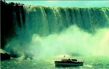 C38-3262, MAID OF THE MIST,  NIAGARA FALLS, CANADA. Postcard.