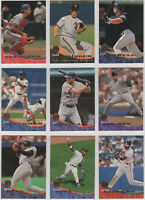 1994 Donruss Leaf Baseball Team Sets **Pick Your Team**