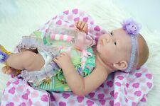 "BABY GIRL DOLL AMERICAN REBORN NEWBORN BERENGUER 15"" VINYL SILICONE LIFE LIKE"