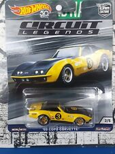 '19 HOT WHEELS 1969 CHEVY COPO CORVETTE NEW IN BOX 50th CIRCUIT LEGENDS SERIES