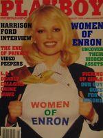 Playboy August 2002 | Women of Enron Christina Santiago Tenison Twins #8462