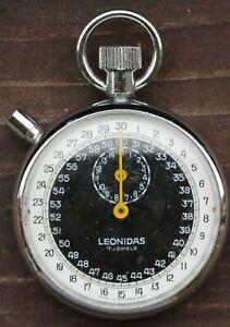 Vintage Leonidas (Heuer) Swiss Made Mechanical Stopwatch