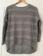 True Harmony Limited Edition Knit Grey Jumper - Unique. Size 8-Suit Range Sizes