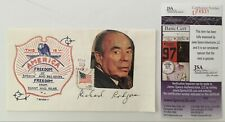 Richard Rodgers Signed Autographed First Day Cover Jsa Certified