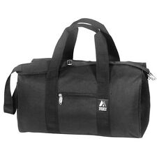 "Everest 36"" Duffel Bag Round Travel Camping Sports Gear Bag - BLACK"