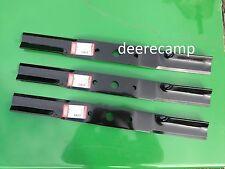 "Set/3 blades Frontier/John Deere GM1072R 72"" grooming mower part #5WP1008199KT"