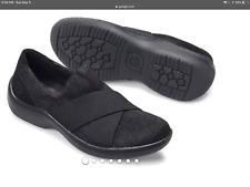 Born Banshee  Black Fabric /Leather Womens   Sz 10