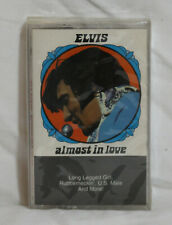 Elvis Presley ALMOST IN LOVE Rock Music Cassette SEALED!