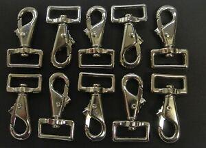 "1""/25mm Snap Clip Horse Pony Rug Repairs Leg Clip Dog Leads Webbing x1 - x100"