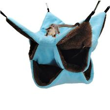 Playing Sleeping Parrot Hammock Squirrel Tent Hamster Bed Honey Glider Cage