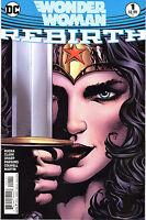 Wonder Woman Rebirth #1 Main Cover NM DC Comics 1st Print Direct Edition J&R