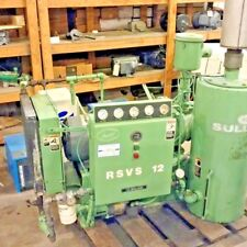 Used 25 Hp Sullair Vacuum rotary open