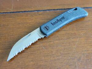 KERSHAW 3000ST POCKET KNIFE SABERTOOTH LOCKBACK SERRATED BLADE - JAPAN RARE !!