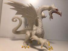 Glow-in-the-Dark Snow Dragon -Safari Ltd #10120- fantasy toy figurine